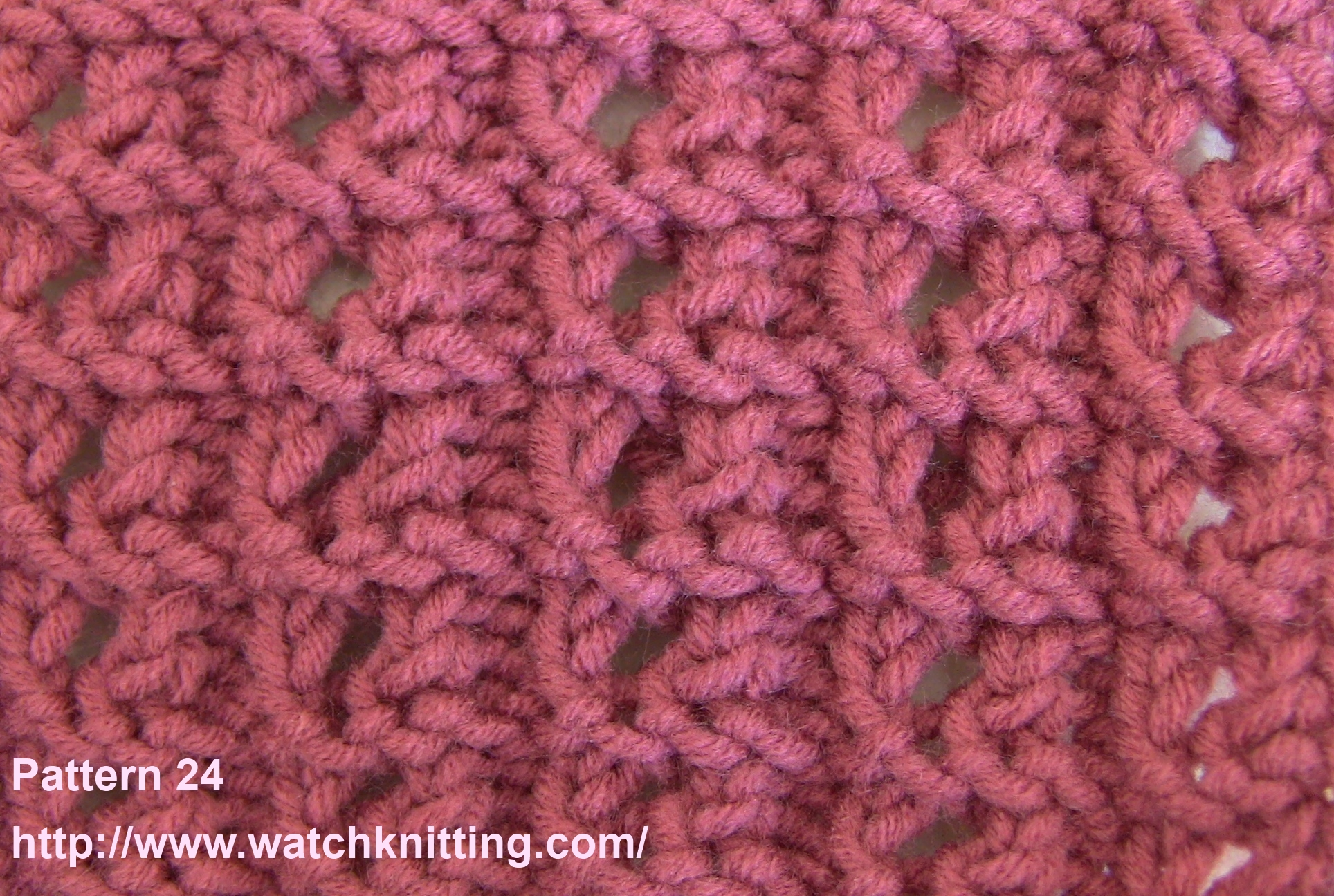 Knitting Patterns : Watchknitting pattern